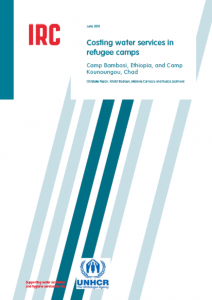 Costing of Waster Services in Refugee Camps (IRC and UNHCR, 2015)