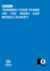 WASH KAP Survey: Training and Piloting