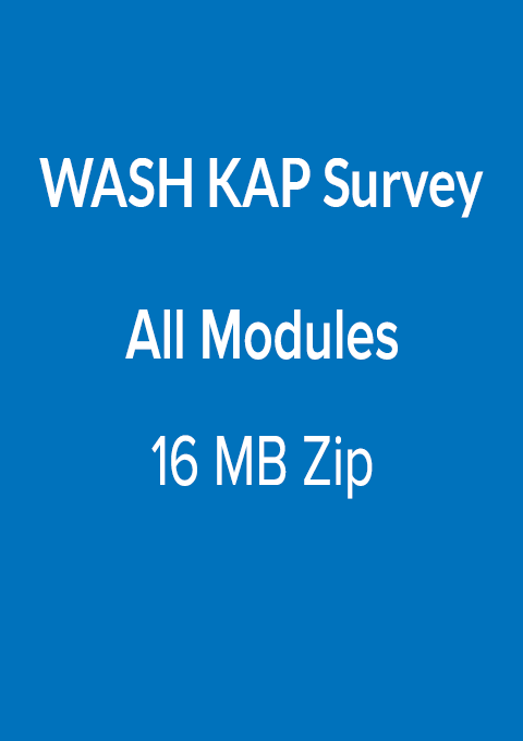 WASH KAP Survey All Modules